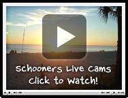 Schooners is next door, click here for live view of our Beach