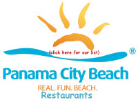 Panama City Beach Visitor's listings of good places to eat