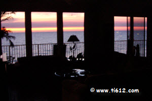 Click here to see the video of a sunset at Tina's Treasure Island